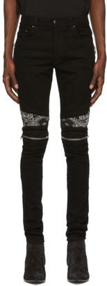 Amiri Black Bandana MX2 Jeans