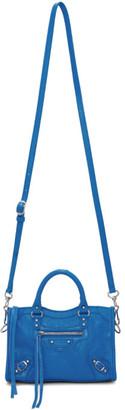 Balenciaga Blue Nano City Bag