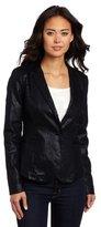 Calvin Klein Jeans Women's Clean Fitted Seamed Blazer