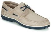 Casual Attitude MELIOU men's Boat Shoes in Grey
