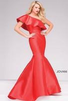 Jovani One Shoulder Mermaid Prom Dress 48400