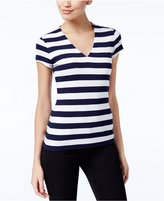 INC International Concepts Striped T-Shirt, Only at Macy's