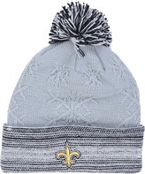 New Era Women's New Orleans Saints Snow Crown Redux Knit Hat
