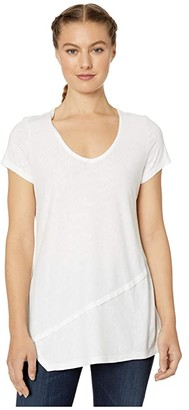 Aventura Clothing Renee Short Sleeve (White) Women's T Shirt