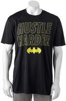 """Big & Tall DC Comics Batman """"Hustle Harder"""" Tee"""