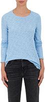 ATM Anthony Thomas Melillo Women's Cotton Long-Sleeve T-Shirt-LIGHT BLUE
