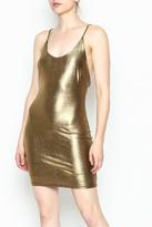 A Ellen Metallic Dress