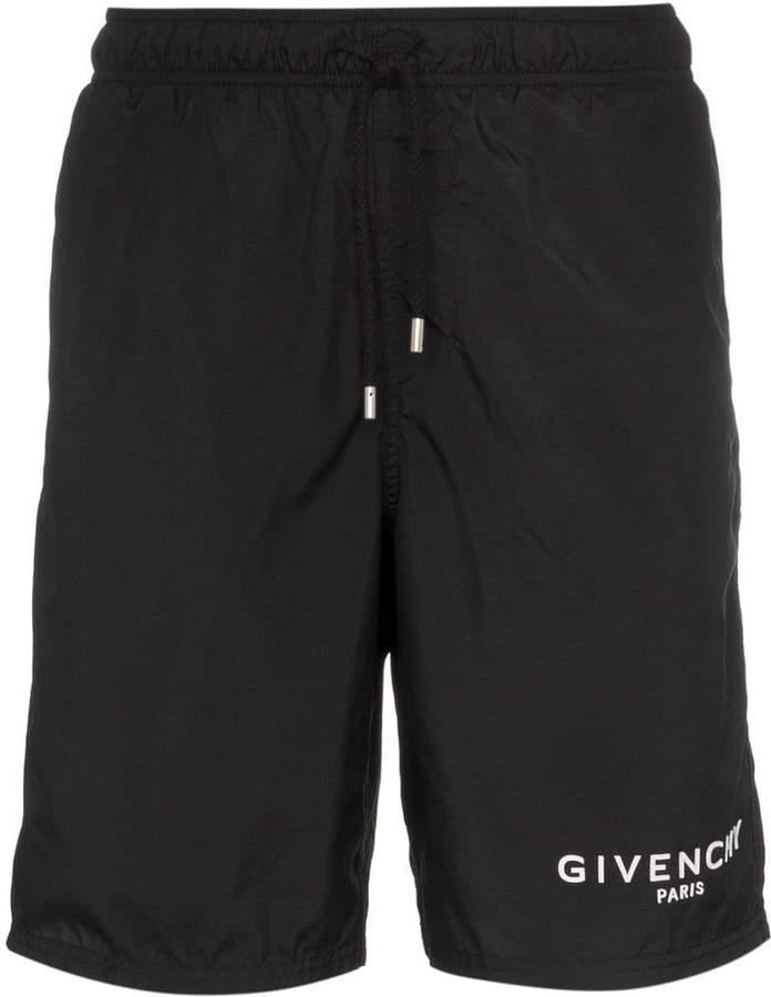Givenchy gummy logo swimshirts