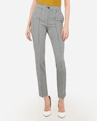 Express High Waisted Houndstooth Ankle Pant