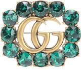 Gucci Crystal-embellished brooch