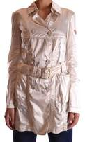 Geospirit Women's Beige Polyamide Trench Coat.