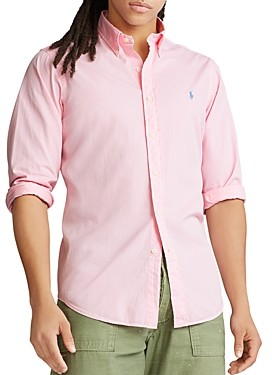 Polo Ralph Lauren Slim Fit Twill Button-Down Oxford Shirt