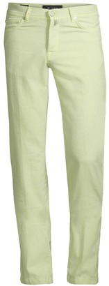 Kiton Straight-Fit Textured Five-Pocket Trousers