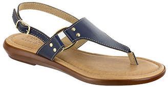 Easy Street Shoes Womens Karaleah Adjustable Strap Flat Sandals