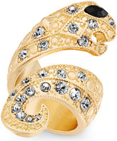 Thalia Sodi Gold-Tone Pavandeacute; Snake Ring, Created for Macy's