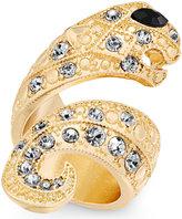 Thalia Sodi Gold-Tone Pavé Snake Ring, Created for Macy's