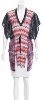 Missoni Chevron Patterned V-Neck Tunic