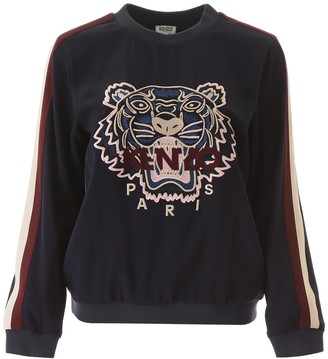 Kenzo Tiger Embroidered Sweatashirt