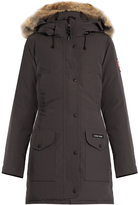 Canada Goose Trillium fur-trimmed down coat