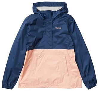 Marmot PreCip(r) Eco Anorak (Arctic Navy/Pink Lemonade) Women's Coat