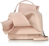 N°21 Nude Leather Crossbody Bag w/Iconic Bow On Front