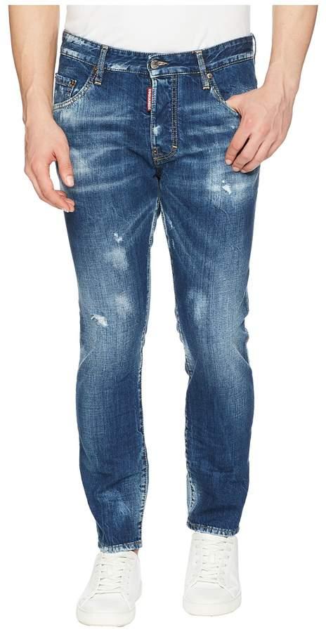 DSQUARED2 Butch Wash Skater Jeans