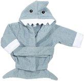 Baby Aspen Hooded Shark Towel - Let the Fin Begin - Blue