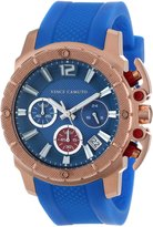 Vince Camuto Women's VC/5102RGBL Rose Gold-Tone Chronograph Resin Strap Watch