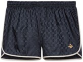 Thumbnail for your product : Gucci GG nylon swim short with bee