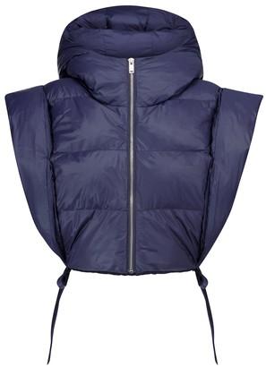 Etoile Isabel Marant Hoodia cropped puffer jacket