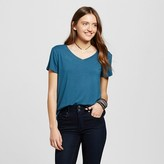 Mossimo Women's Short Sleeve Softest V-Neck T-Shirt