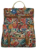 """Disney Mickey Label Daypack 15"""" Laptop Compartment Multi Purpose Backpack 017"""