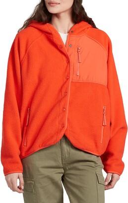 Billabong Tofino Snap Front Fleece Jacket