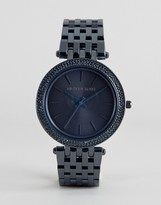 Michael Kors Blue IP Darci Mesh Watch