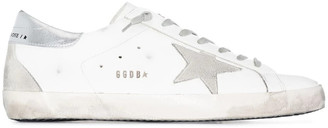 Golden Goose Superstar Leather Upper Suede Star Metal Lettering