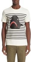 Moncler Men's Stripe Graphic T-Shirt