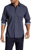 Toscano Long Sleeve Mini Diamond Shirt