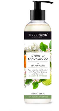Tisserand Aromatherapy U.K. Aromatherapy Neroli & Sandalwood The Hand Wash 195ml
