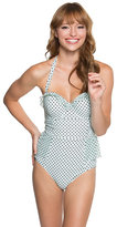 Betsey Johnson Duo Dot One Piece