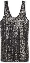 H&M Sequined Tank Top