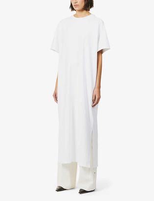 The Row Aprile oversized cotton maxi dress