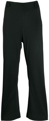Prada Pre-Owned 1990's Kickflare Cropped Trousers