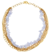 Janna Conner Blue Lace Agate Collar Necklace