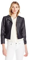 Ellen Tracy Women's 2-Pocket Crop Jacket