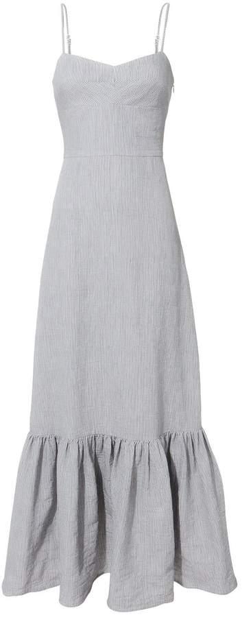 Intermix Surbi Lace-Up Back Maxi Dress