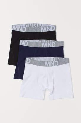 H&M 3-pack mid trunks