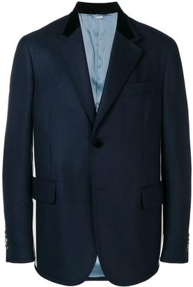 Gucci Sylvie Web stripe blazer