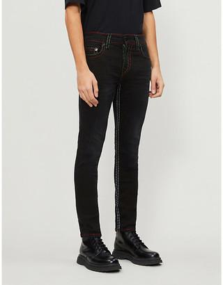 True Religion Rocco No Flap skinny stretch-denim jeans