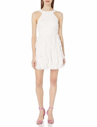 Speechless Women's Corkscrew Skirt Fit and Flare Dress