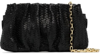 Elleme Vague woven leather shoulder bag
